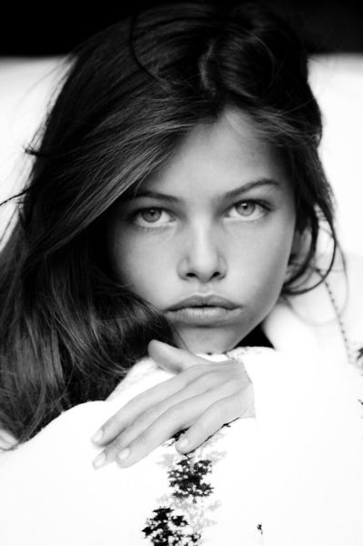Thylane Blondeau  (is it me, or does she look like a young adriana lima?)