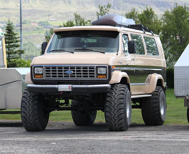 Ford Econoline 4x4 Custom Off Road Pinterest 4x4