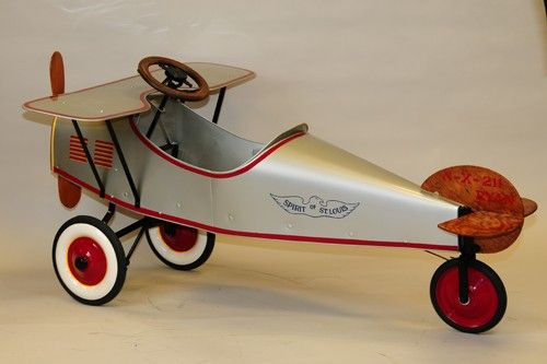 Antique Airplane Tricycle : Best images about pedalcars air planes on pinterest
