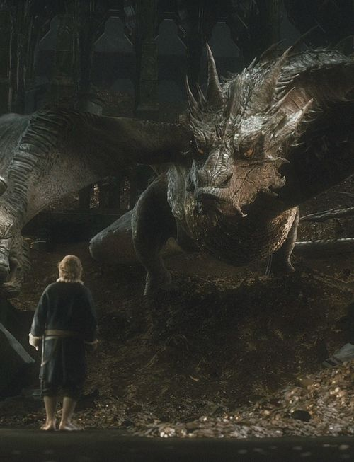 Bilbo & Smaug, or John & Sherlock, or Martin & Ben. However you wanna look at it. This picture is one of my fave's <3