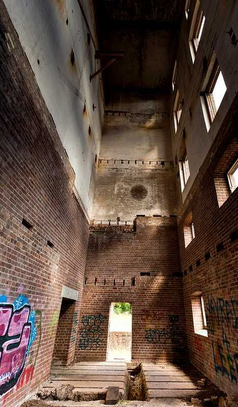 12 Abandoned Breweries: Tooth's Brewery abandoned in NSW, Australia