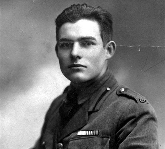 Hemingway - Italian Silver Medal of Bravery