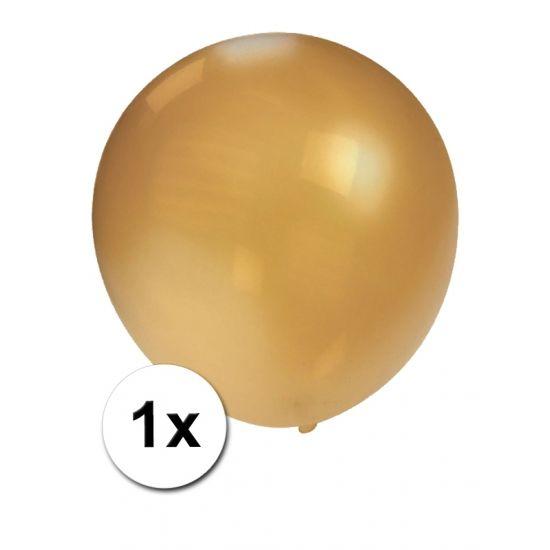 Mega ballonnen goud metallic 90 cm  Mega ballon goud metallic. Deze stevige kwaliteitsballon in de kleur goud metallic heeft een formaat van ongeveer 90 cm.  EUR 5.95  Meer informatie