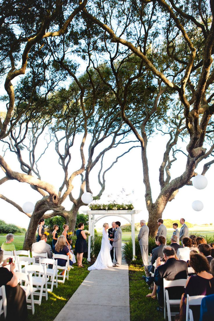 Riverfront Lawn Wedding At Jekyll Island Club