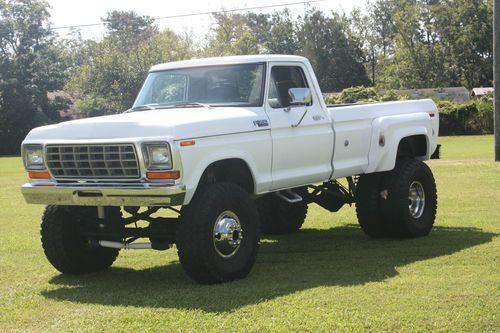 39 79 ford f 350 4x4 dually trucks ford mercury - Bac a semis ...