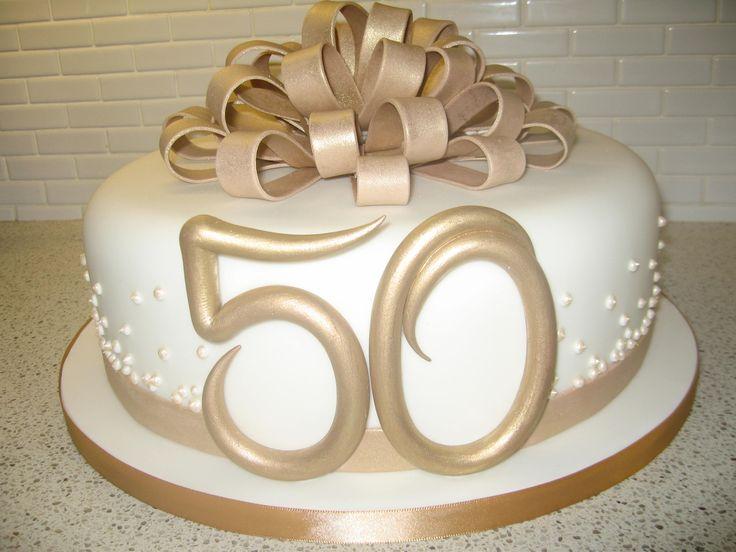 50th Wedding anniversary cake...