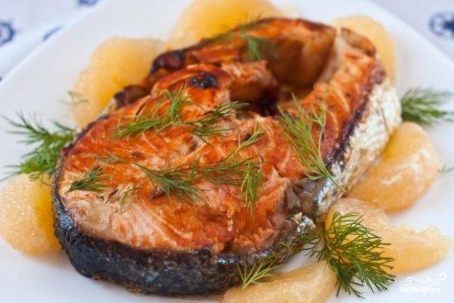 Multi cooker recipes: salmon steak