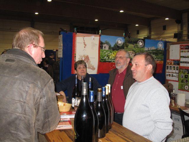 Domaine des andrines salons st vincent du vin et du - Floreffe salon du vin ...