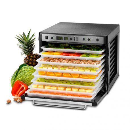 Nuevo deshidratador eléctrico para deshidratar frutas, verduras, hierbas y más. 5 años Garantía y Envío Gratuito. El mejor deshidratador del mercado.