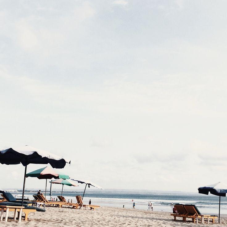 legian beach, bali.