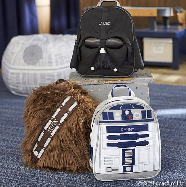 These new Star Wars™ backpacks hold everything your young Jedi™ needs for big adventures. Check them out and the rest of our biggest-yet collection now!