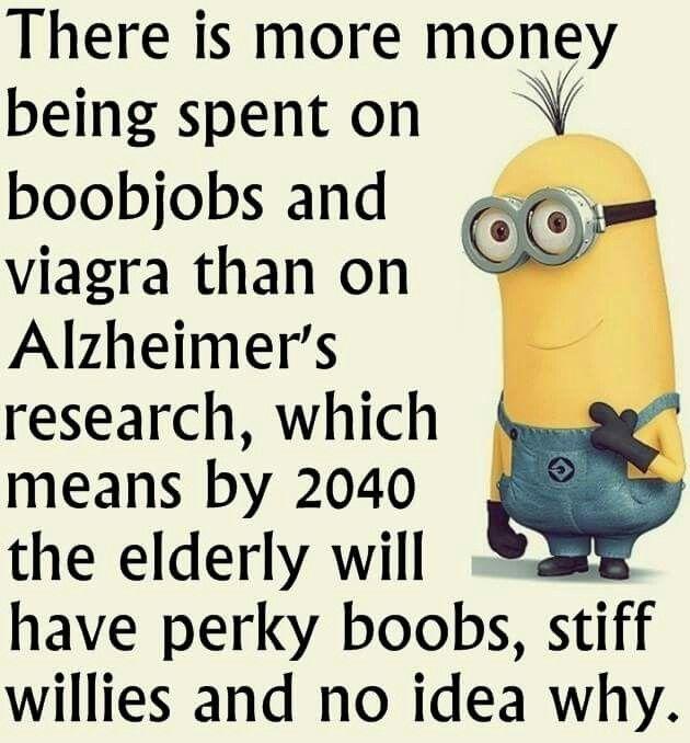 Money spent on boobjobs and viagra