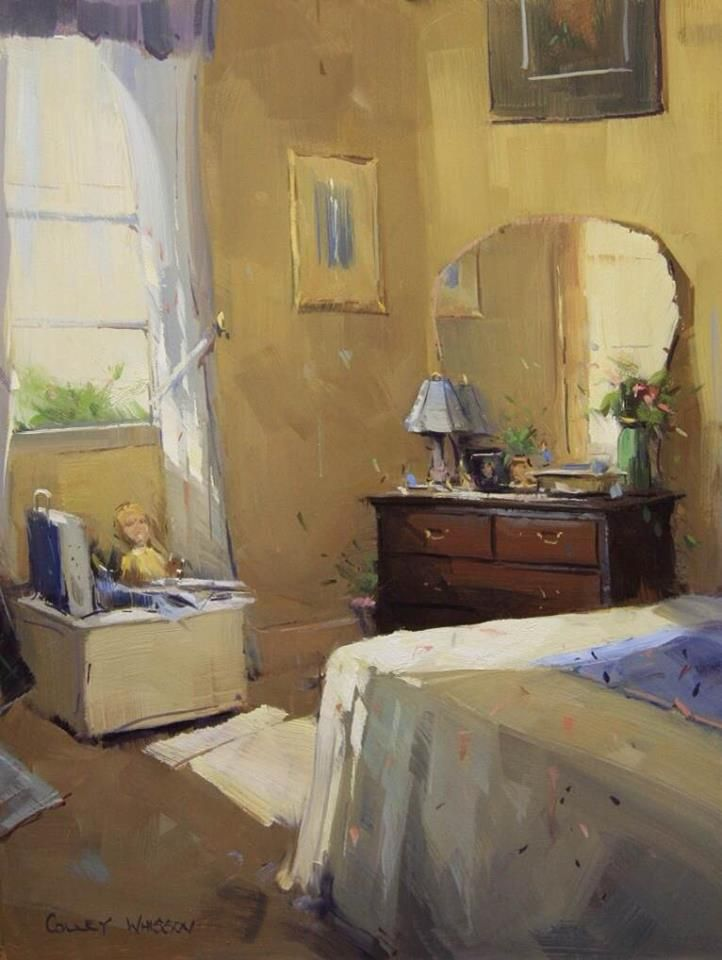 """Colley Whisson """"Where Dreams are Made"""" 16x12"""