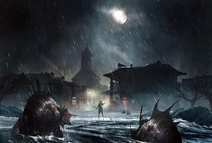 creepy fish-men by *Alejandro-Mirabal on deviantART