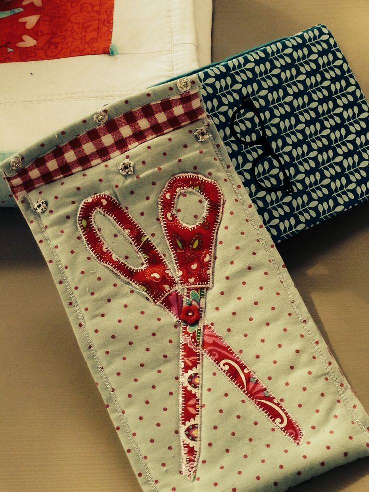 Quilted Scissors Case