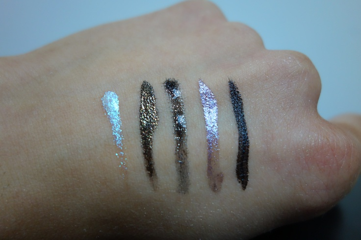 Lacquer devotions ink ink quartz eyeliner swatches lacquer liner