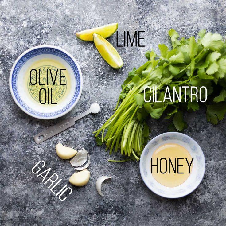 cilantro lime marinade text - Chicken