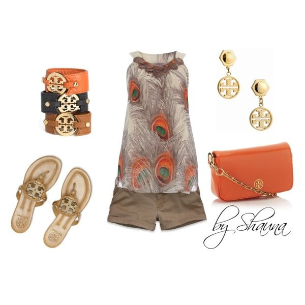Peacock tank with Tory Burch logo accessories: Peacocks Shirts, Fashion Alert, Burch Accessories, Summer Style, Tory Burch, Peacocks Prints Clothing, Prints Tops, Peacocks Summer Outfit, Hello Summer