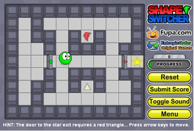 Free Brain Games Online – Shape Switcher. This is a great maze game created by fupa.com , you are a shape shifter stuck in a maze looking for the exit.