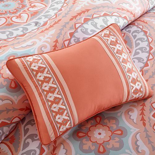 Best 25 Coral Bedspread Ideas On Pinterest Grey Bed