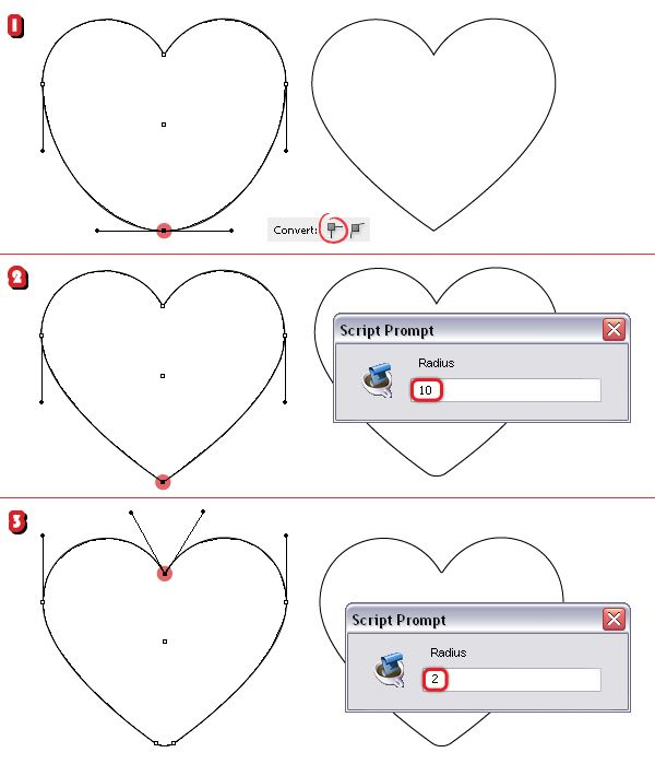 How to Create a Set of Heart Icons in Adobe Illustrator With the Mesh Tool | Vectortuts+