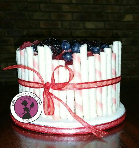 All berries cake...... yummy!!!