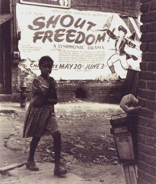 Shout Freedom, Charlotte NC, circa 1948