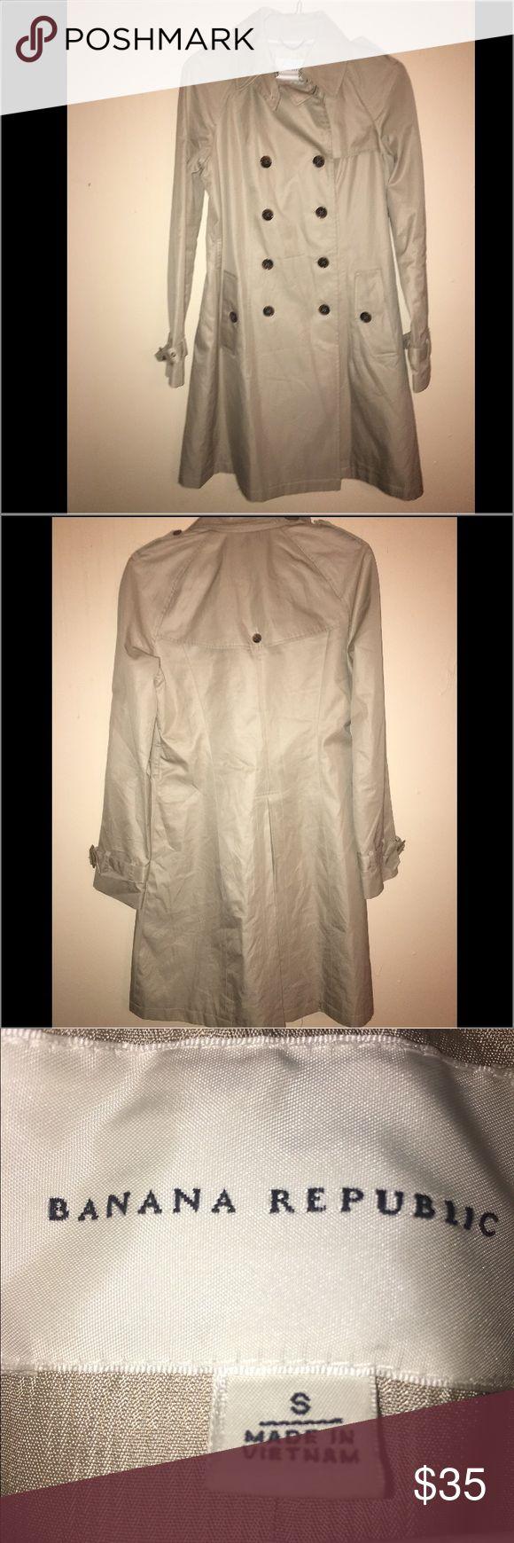 Banana republic Jacket/coat Size small banana republic jacket/coat Banana Republic Jackets & Coats Trench Coats