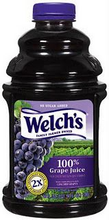 Prevent the stomach flu with grape juice! Great if you've been exposed to it or taking care of someone with the flu!