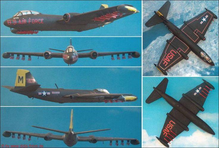 """Martin B-57G """"Nighthawk"""" (Italeri 174) 1:72"""