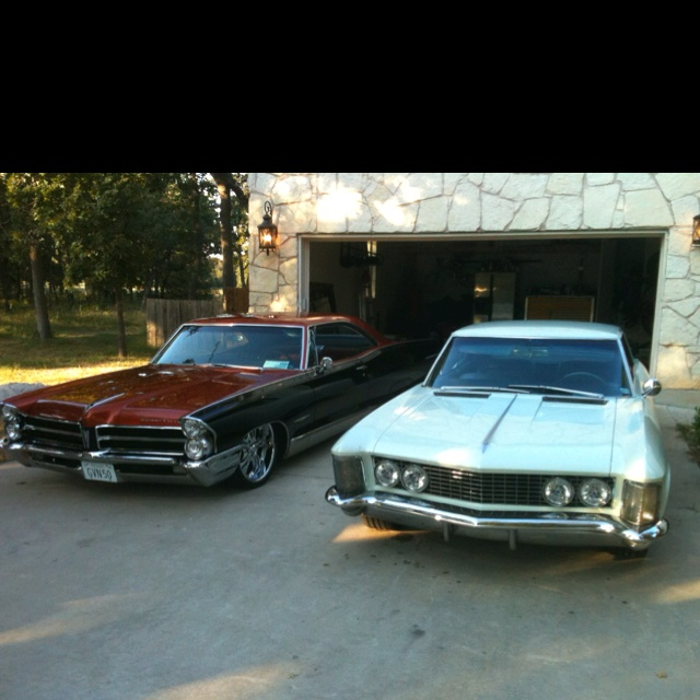 342 Best Images About Buick Riviera 1963 1964 1965 On: Bonnie And Rivie Sittin In Our Driveway