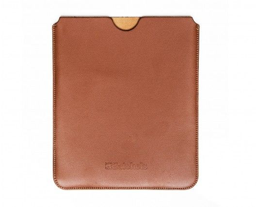 Classic Chestnut Leather IPad Case