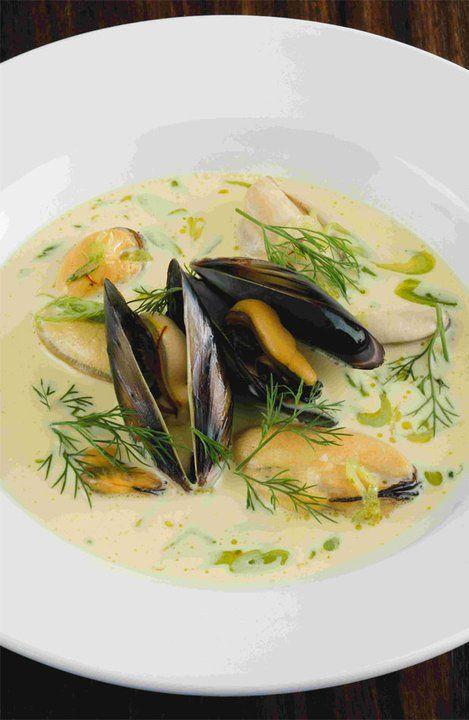 Mussel, saffron and fennel soup   Yuppiechef Magazine