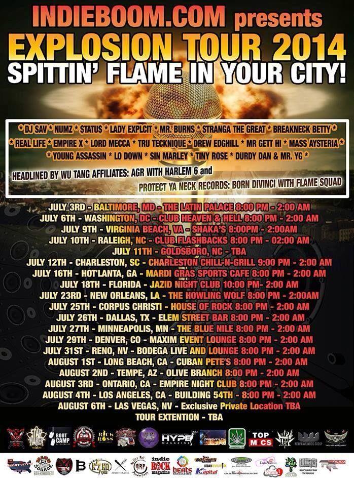 http://www.mixcloud.com/djsavmarie/indieboom-explosion-tour-2014-promo-mix/  #djmix #new #tour #promo #mixedgenre #baltimore July 3rd #IndependenceDay kickoff #stoked