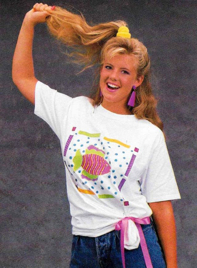 Cool Pics That Defined The 1980s Fashion Trends Of Teenage Girls Vintage Everyday 1980s Fashion Trends 1980s Fashion 1980s Trends