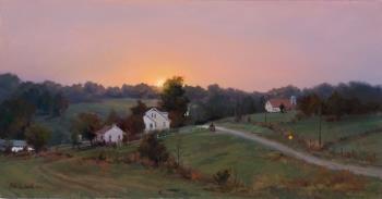 1023 Best Images About Farm Landscape Paintings On