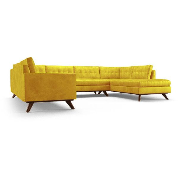 Modern Sofa Best Yellow leather sofas ideas on Pinterest Yellow sofa inspiration Curved couch and Couch placement