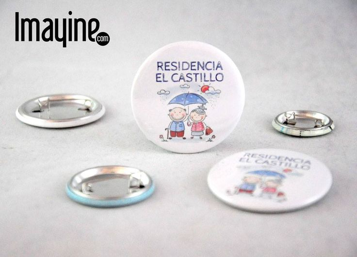 """Chapas de la Residencia de Ancianos """"El Castillo"""""""