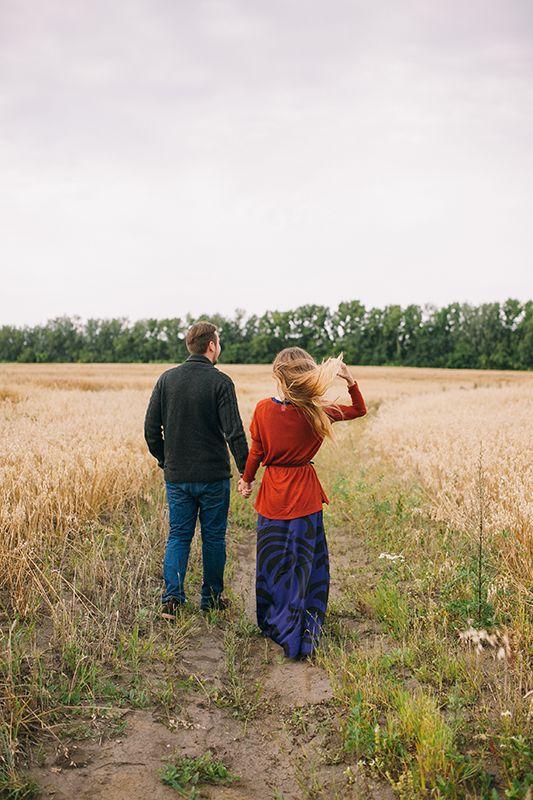Engagement shoot, autumn
