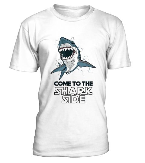 """# Come To The Shark Side T-Shirt .  100% Printed in the U.S.A - Ship Worldwide*HOW TO ORDER?1. Select style and color2. Click """"Buy it Now""""3. Select size and quantity4. Enter shipping and billing information5. Done! Simple as that!!!Tag: shark, marine biology, shark lovers, a giant toothy fish, Hammerhead Shark, Megalodon Shark, Blacktip Shark, Great White Shark, Shortfin Mako Shark, Leopard Shark, Tiger Shark, Bull Shark, Whitefin Hammerhead Shark, Oceanic Whitetip Shark"""