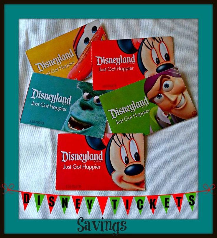 How to get Disneyland Ticket Discounts