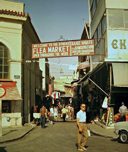 Athens, Flea Market, Monastiraki,  RETRONAUT - Lightbox - LiFO