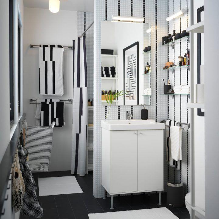 Geschmeidige Ablaufe Leicht Erreichbare Aufbewahrung Badezimmer Ideen Badezimmer Inspiration Ikea Bad Lagerung Badezimmer Im Erdgeschoss Badezimmer Klein