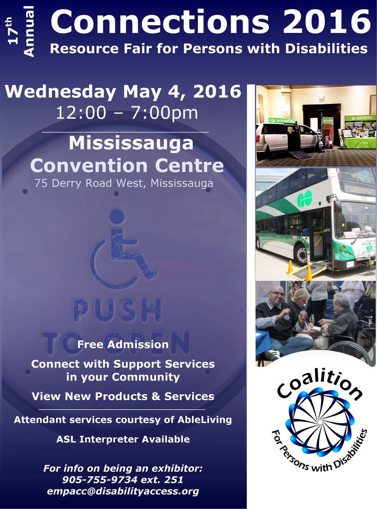 We will be at Connections 2016! Stop by our Community Services booth tomorrow from 12:00 - 7:00pm at the Mississauga Convention Centre. Admission is free.