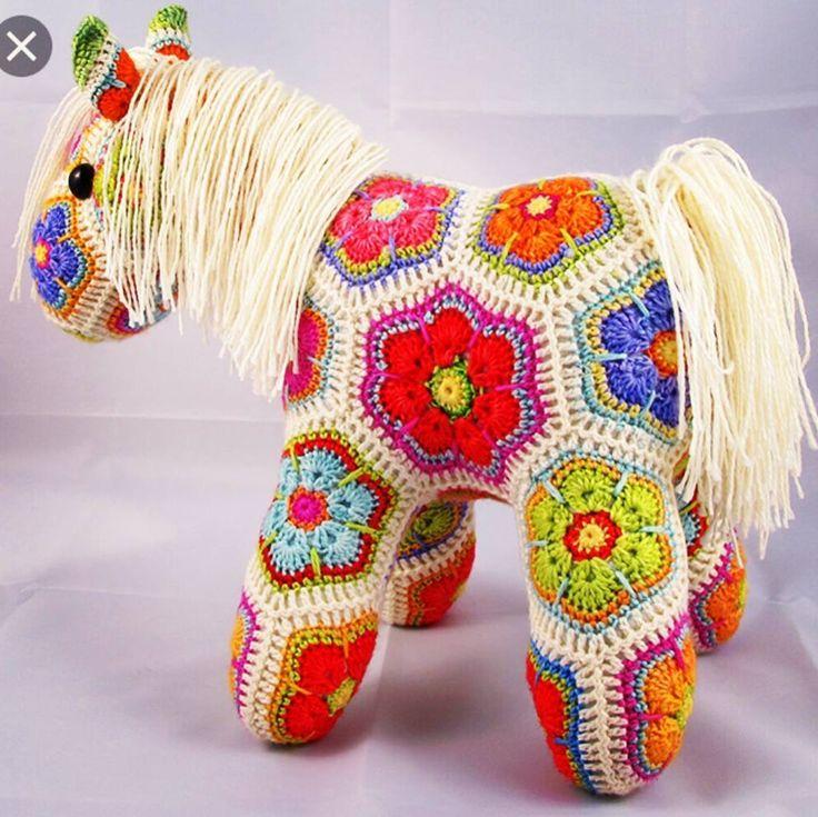 Лошадка из мотивов #лошадка #лошадь #вязанаяигрушка #вязаная #вяжутнетолькобабушки #вяжукрючком #рекламарукоделия #мотив #измотивов #пледизмотивов #knitting #knit #hook #horse #amigurumi #beaty #куколки #текстильныеигрушки #игрушки #детям #шитье #хоббидлядуши by handmade_reklama