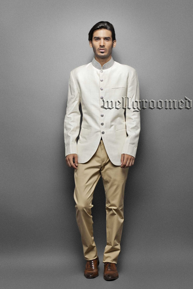 Stunning mens indo western from wellgroomed designs inc for Indo western wedding dress for men