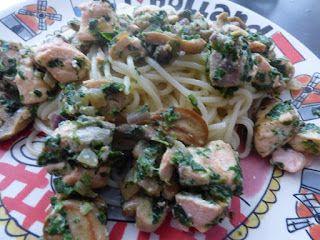 Scrappen en beppen: Celebrate * Pasta met spinazie-zalmsaus * De psalmist-James Lilliefors