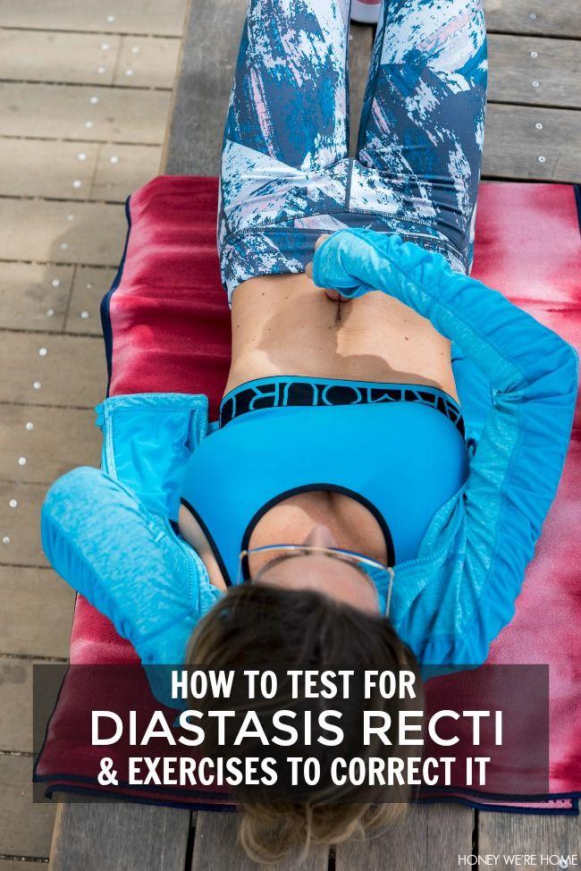 Best 25 Diastasis Recti Exercises Ideas On Pinterest