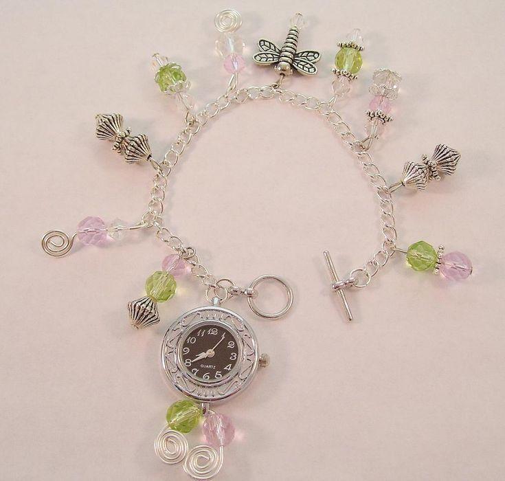 Charm Bracelet Watch: Bracelet Watch, Charm Bracelets, Charms Bracelets, Bracelets Watches