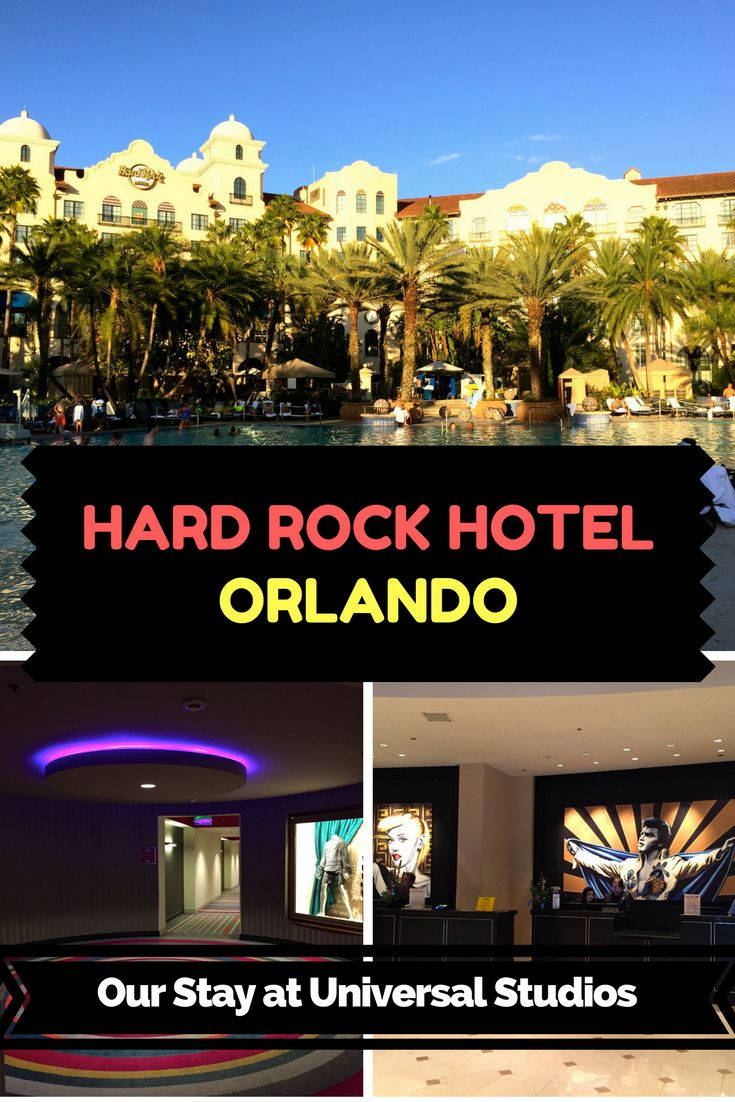 A Review of our stay at Hard Rock Hotel Orlando. We loved this hotel and would recommend it to anyone visiting Orlando, Florida and Universal Studios. It's the closest hotel to the Universal parks, has a fabulous pool and gives you free unlimited express passes with your stay.